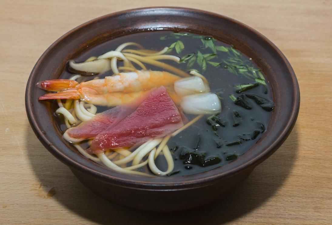 Рецепт суп удон с морепродуктами
